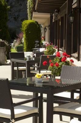 Chalet-hôtel Aux Mille Étoiles –  Restaurant